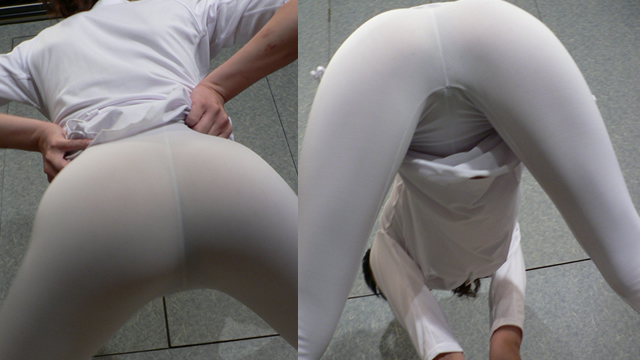 White spats dancer! The crotch movement is too violent! #2