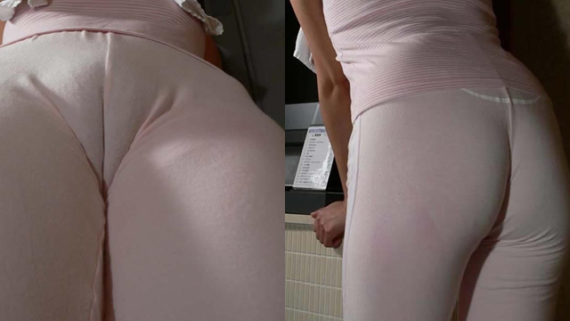 Fitness with extremely thin spats #2