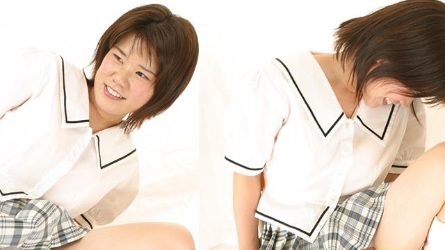 Uniform Pretty girl Harumi-chan shameful crotch! #2