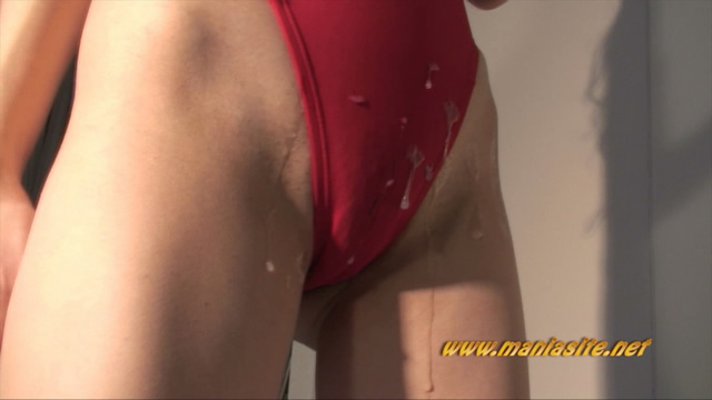 Ena's soft red swimsuit semen buckwheat! #2