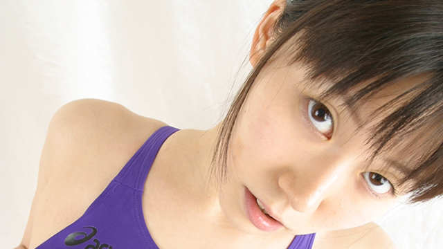 Beauty college Arisa-chan wearing a swimsuit purple! Cut away swimsuit nipples and the local, it is blamed directly! #2