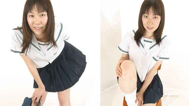 Pretty girl Arisa - chan white sailor 's provocation punching! #1