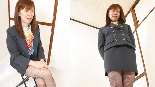 Uniform OL Mina's panchira / chest chiller! #1