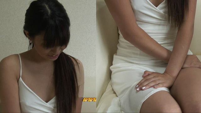 Slender Beautiful Yu chan horny masturbation on the sofa!