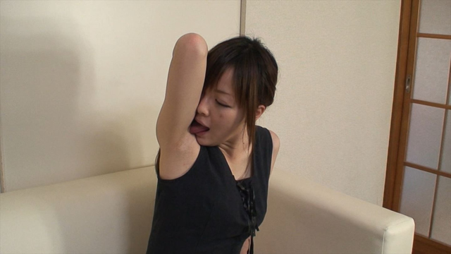 Licking armpit after it wrote as hard sweat of Ena-chan! Sub-camera version