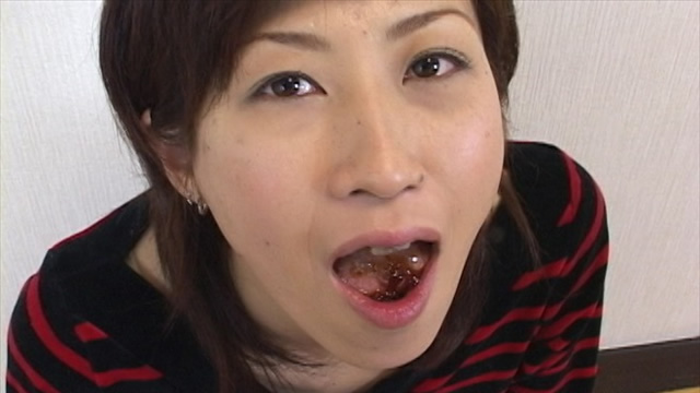 Ms. Masako, challenge food cum! Coffee jelly edited! #2