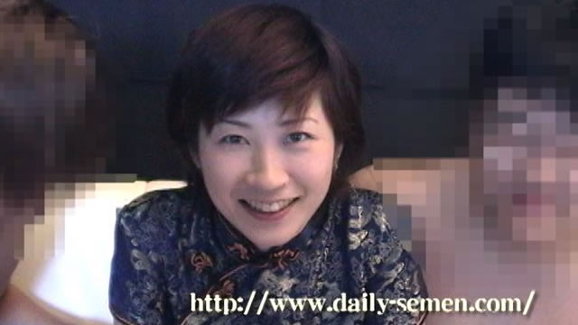 Masako facial ejaculation China edition #1