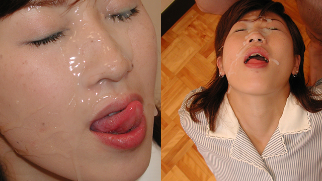 Masako's fan big face firing! Masako 's face is pure white with semen of Masako fans! #2