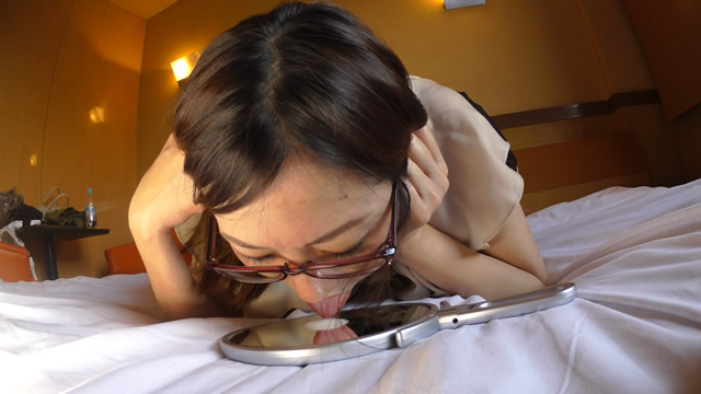 Shimbun wife Miyuki's pseudo-blowjob simulated semen nevaspe play! #2