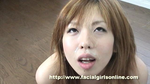 Face of erotic girl waiting for ejaculation!