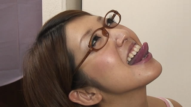 Erotic semen's mouth launch test shoot! Sub Camera Version #2