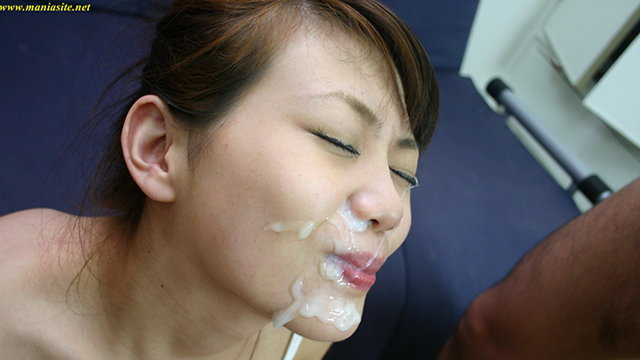 A magical slender beautiful Airi, rooftop fellatio Continuous cumshots! #2