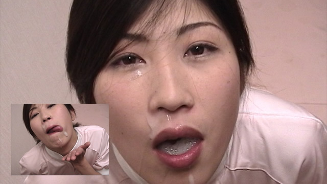 The ultimate semen of a nurse Cum swallow Nevospe! #2