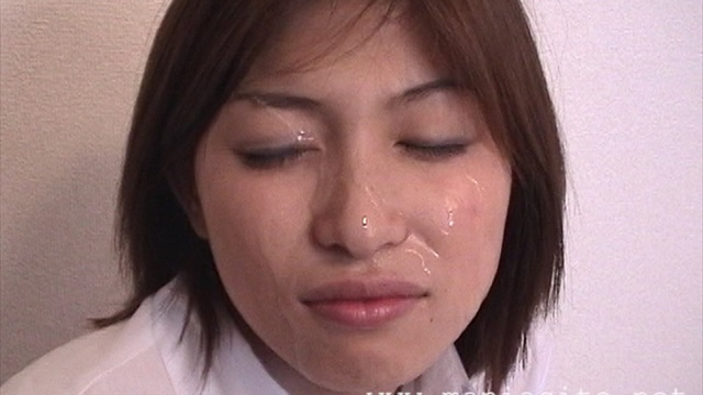 Off meeting Pinch hitter Amateur Mai Bukkake face for the first time challenge! #2
