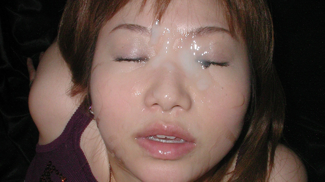 Continuous mouth ejaculation, facial shot, bukkake off party of girls' university Kaori! #2