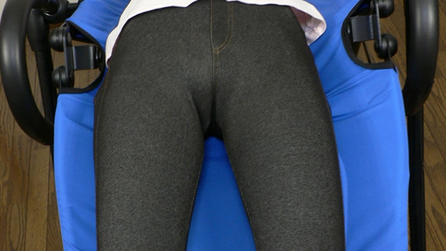 Jeans Morimon Forced Bridge! Cum bags in crotch! #1