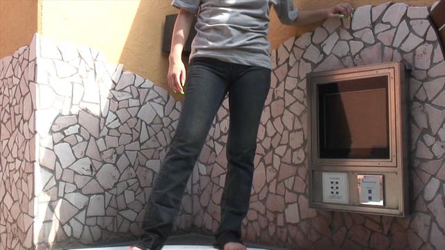 Clothes WET Jeans Moriman Cameltoe!