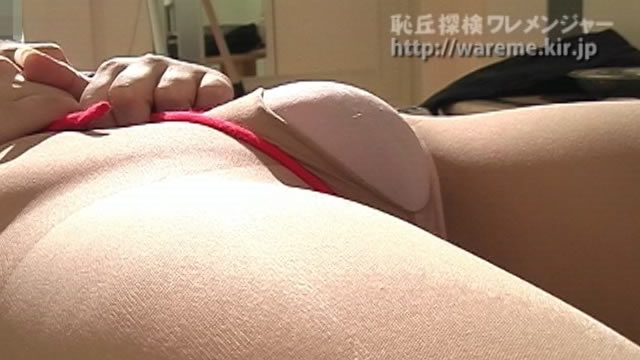 Moriman jumping out of the hole in the pantyhose #2