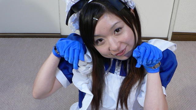 Lolita girl maid Ruri chan, heal her master with handjob! #2