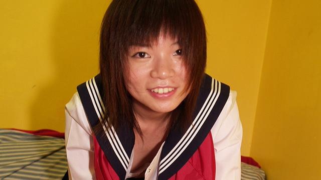 Sailor suit Chiaki's hard working handjob blowjob! #2
