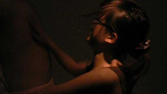 Suspicious massage in a massage shop that is too dark! #1