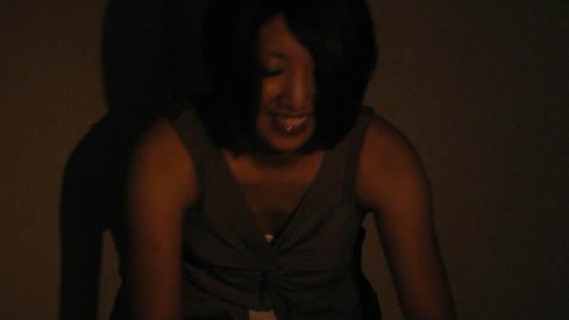 Erotic powder massage in the dark store! #1