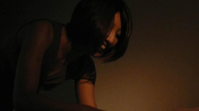 Erotic powder massage in the dark store! #2
