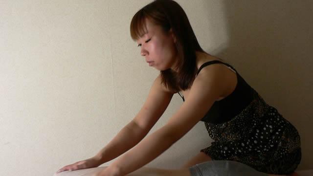 Busty therapist powder massage & prone handjob! #1