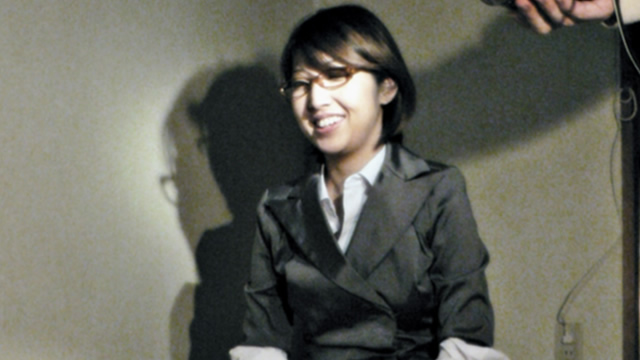 Sae-chan in a suit is a dirty handjob in a dark room! #1