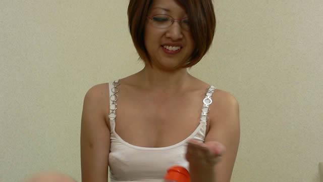 Super comfortable Sae-chan's super nipple licking handjob #1