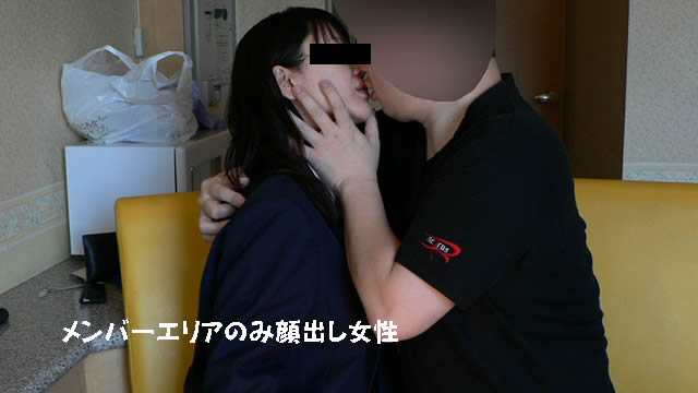 Thick kissing continuous shooting at a hotel with a married woman with glasses! #1