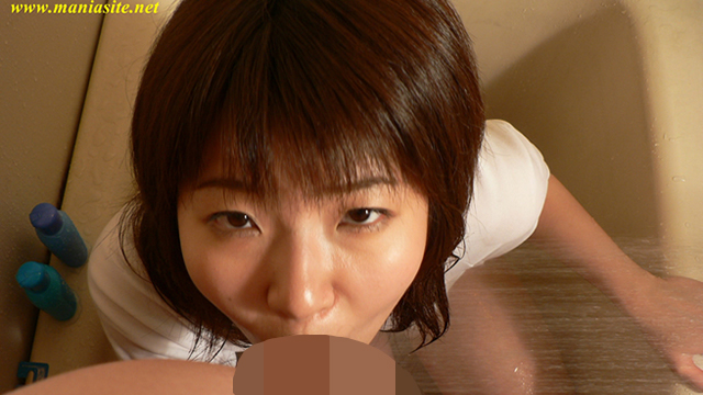 Haruka of ultra-erotic Blow! Subjective Blow wearing gym clothes among the bathtub! #2