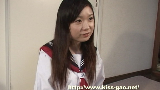 Kiss face of Ruri in uniform!