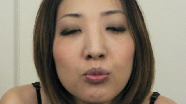 Sae 's erotic paste chest chiller tongue protruding kiss face! #1
