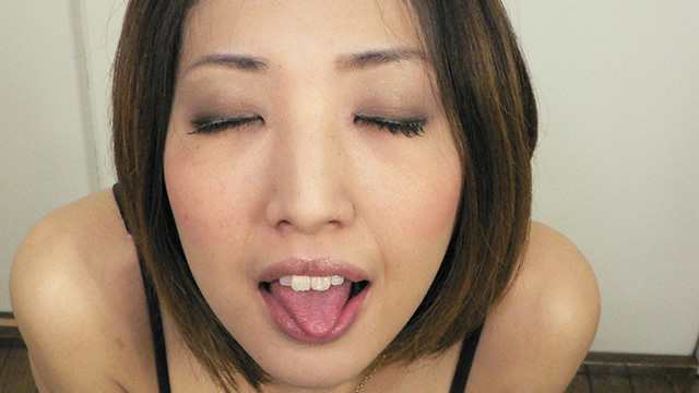 Sae 's erotic paste chest chiller tongue protruding kiss face! #2