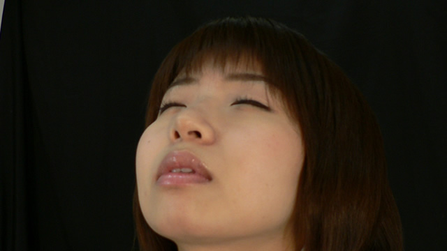 Erotic too tongue out of the tongue beauty Haruka out kiss face! #2