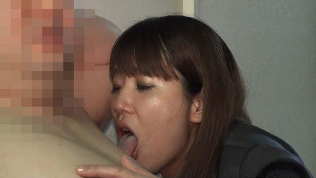 Tanaka continues to lick the side of the man!