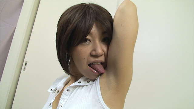 Rim erotic tongue and sides of the shortcut woman! !