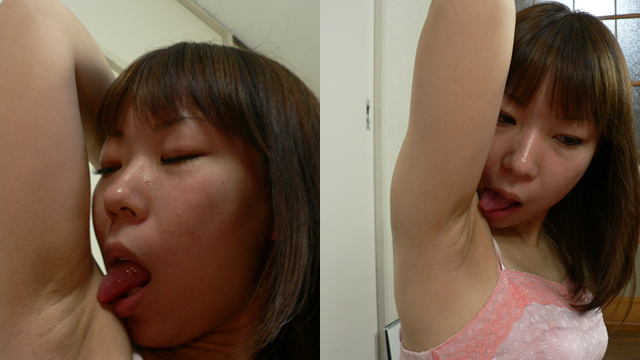 Thin and glamorous cute Junko's licking! #2