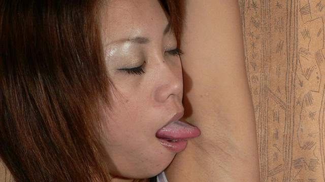 Licking armpit of adult of Busty Maria! #2