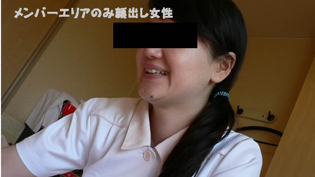 The joyful handjob of a married woman in nurse clothes! #1