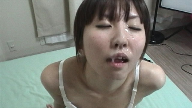 The mass Facials of one shot in underwear of Tits! #2