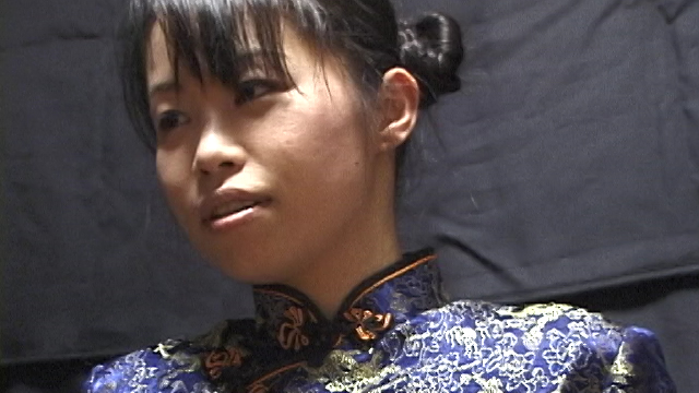 Tie Eri of the Chinese dress and shoot her mouth · cumplay! #1