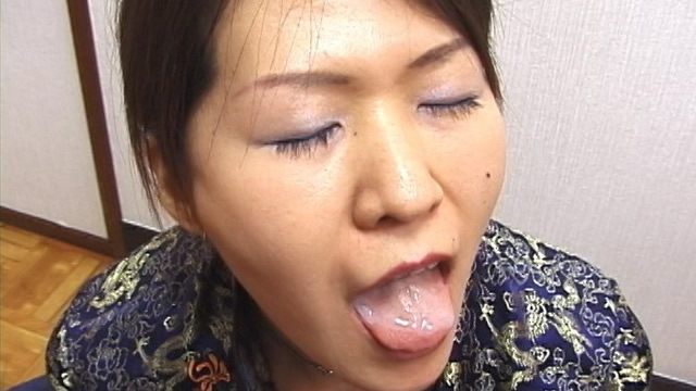 Nebasupe mouth-launched from Miku's usual amazing blowjob in a cheongsam! #2