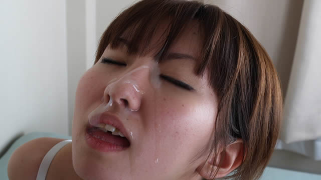 Small tits beauty Moe-chan blowjob and facial cumshots in underwear! #2