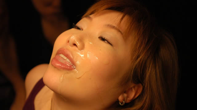 A female college student with a facial shot. It's too rich and laughs!