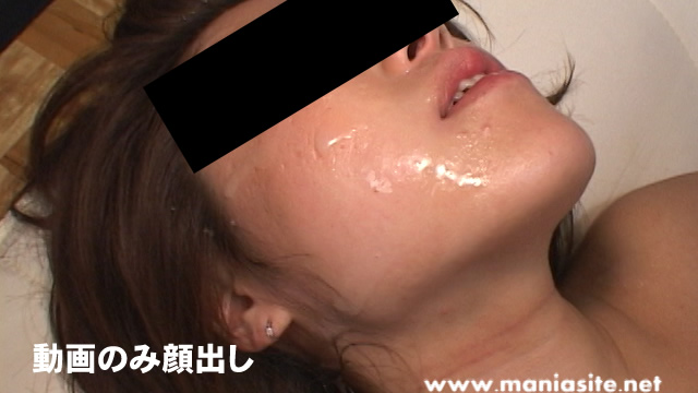 Semen-loving amateur female bukkake! #2